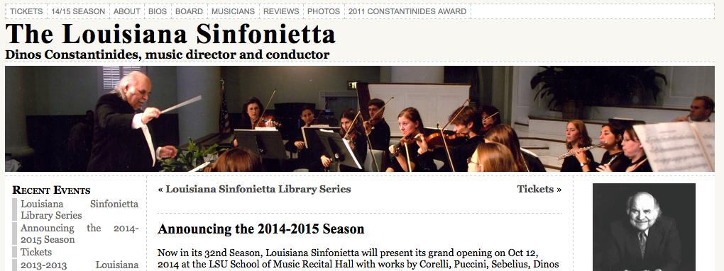 Louisiana Sinfonietta